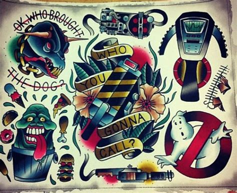 ghostbusters tattoo designs 234 best images about ghostbusters on