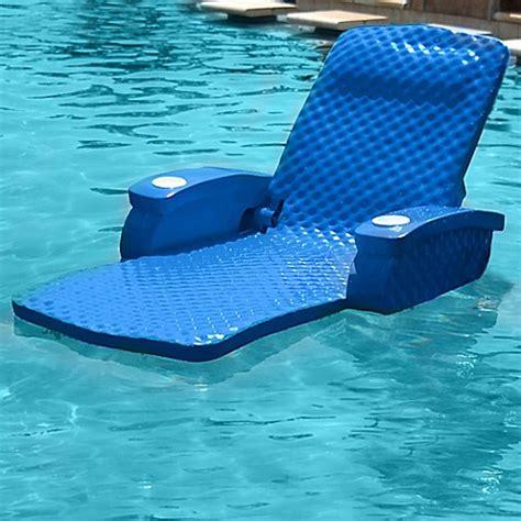 pool beds super soft 174 adjustable pool recliner bed bath beyond