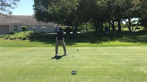 smooth golf swing harbaugh shows off smooth golf swing espn video