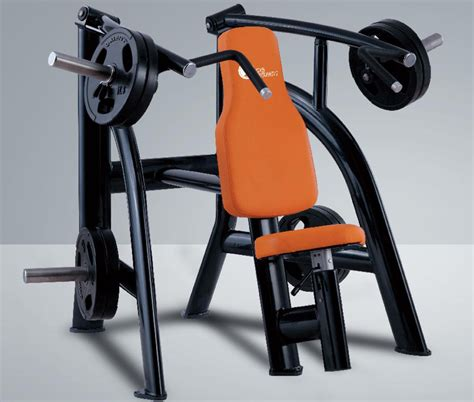 seated bench press machine seated machine bench press fastfit fitness equipment