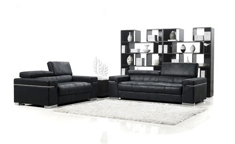 black sofa set designs black italian design modern sofa set