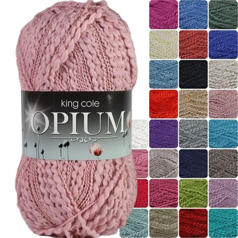 King Cole Opium Cotton Acrylic Knitting Yarn