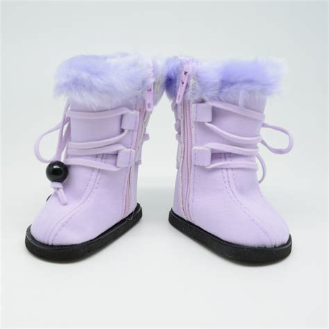free clothes and shoes 18 18 inch doll shoes for american plush purple boots