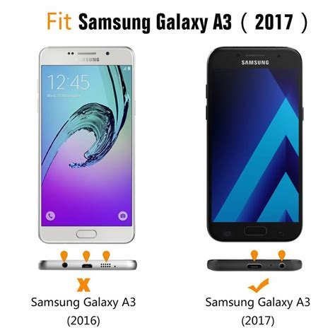 Flipcase View Samsung Galaxy A3 gsmwise samsung galaxy a3 2017 window view kunstleren