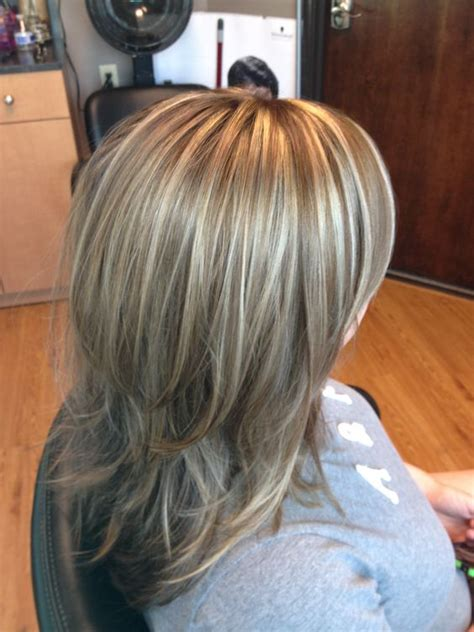 hairstyles layers with blended highlights lowlights blonde highlights lowlights long layered hair hair