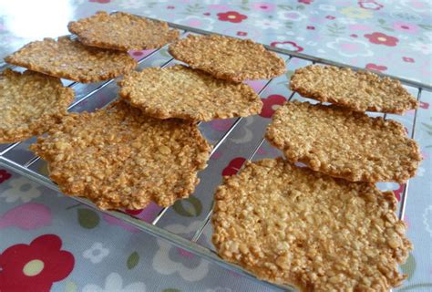 Basic Tuile Recipe by Oat Tuiles Crispy Cookies Easy Recipe All