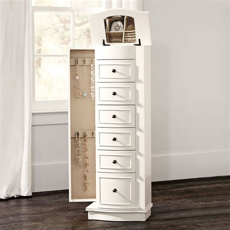 jewelry armoire for girls jewelry armoire for girls chelsea jewelry armoire pbteen