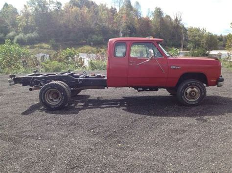 93 dodge dually sell used 93 dodge w350 dually 4x4 extended cab 5 speed