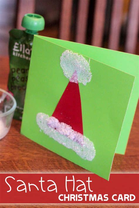 santa cards to make santa hat card santa hat santa and easy