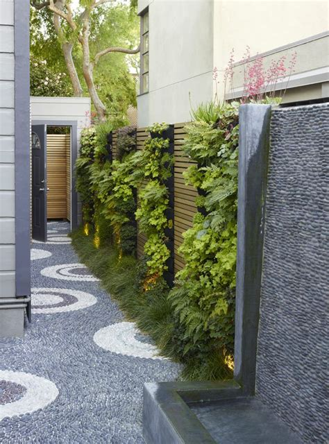 modern garden wall 25 unique side garden ideas on side yards