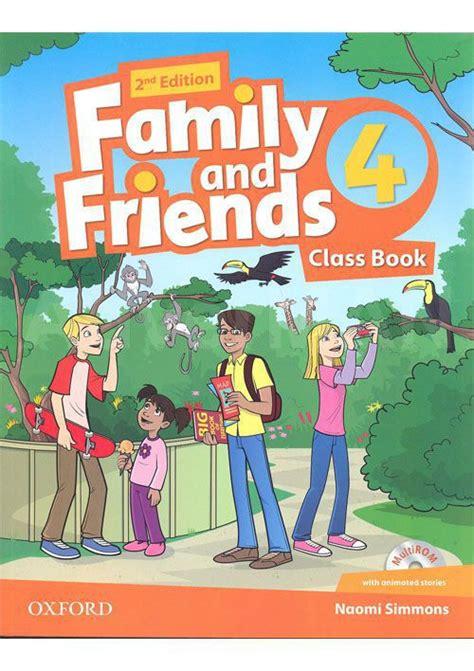 family and friends 5 2nd ed class book multirom ed oxford libroidiomas family and friends 2nd edition class book and multirom pack уровень 4 купить