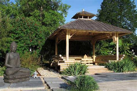 Deco Bambou Jardin by Decoration Jardin Gazebo Bambou Asiatique