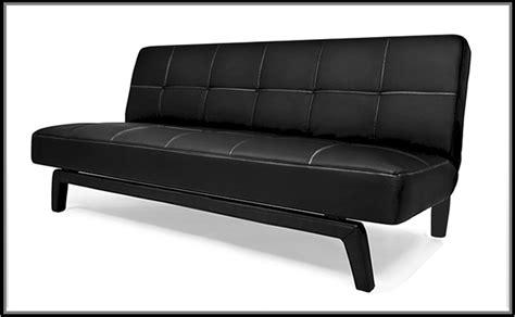 divano letto ecopelle bianco divano letto erica 180x108x40 bianco o nero in ecopelle
