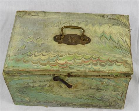 Decoupage Boxes For Sale - 1900s italian decoupage on wooden storage box for sale at