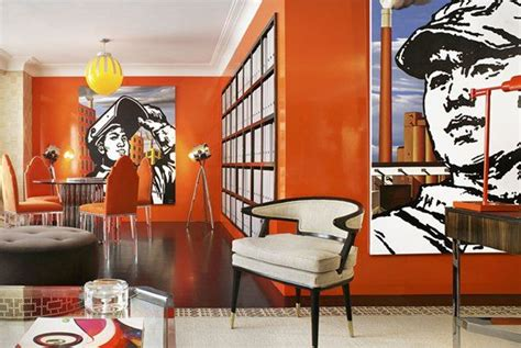 colour psychology using orange in interiors the design sheppard orange rooms fresh as a citrus