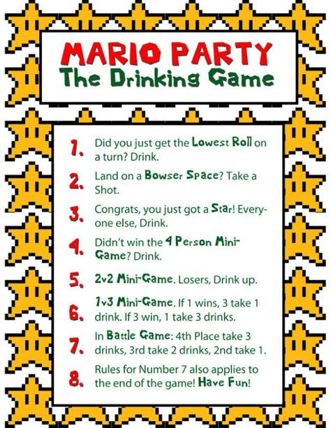 themes drinking games how to throw a mario party party halloween costumes blog