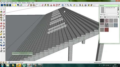 google sketchup tutorial part 2 google sketchup tutorial making a stadium stand