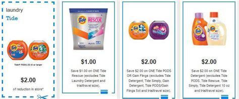 printable tide coupons tide laundry detergent printable coupons 2017 2018