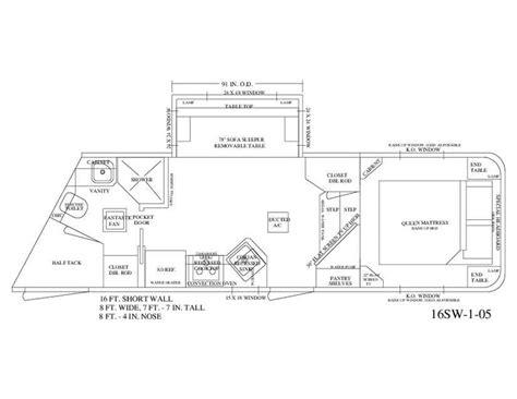 horse trailer living quarter floor plans pin by equine rv on living quarter floor plans pinterest