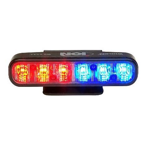 whelen emergency vehicle lights whelen ion super led universal light