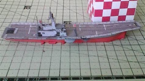 Origami Aircraft Carrier - new paper craft htms chakri naruebet aircraft carrier