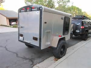 Homemade Camper Awning Off Road Cargo Trailer For Sale Sold Expedition