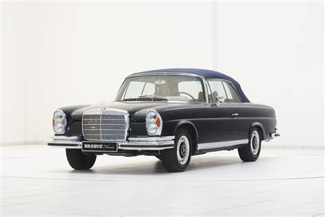 mercedes benz classic brabus classic mercedes benz 280 se 3 5 cabriolet w111