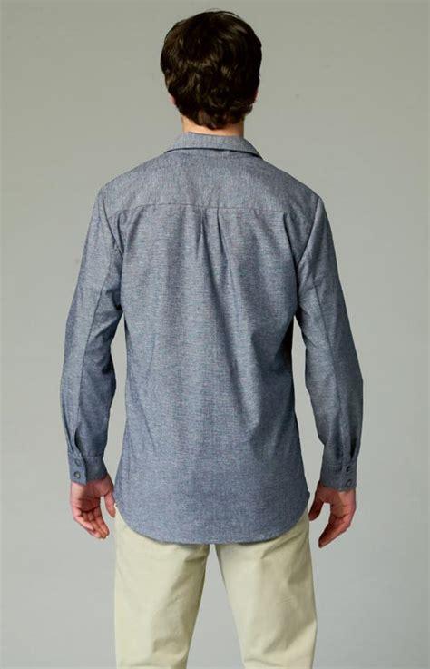 pattern back dress shirts mccall s 6932 pattern unisex c shirts
