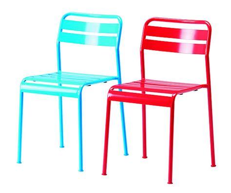 chaise jardin couleur chaise jardin metal couleur de cing et jardin