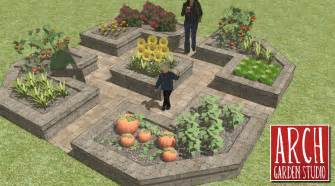 Design A Vegetable Garden Layout Raised Bed Vegetable Garden Layout Plans