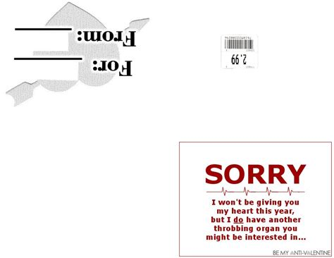 Anti Day Card Template by Anti S Day Card 7 By Trysex On Deviantart