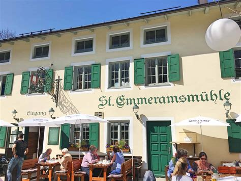 Biergarten Englischer Garten Speisekarte by M 220 Nchen Eat Drink Sankt Emmeramsm 220 Hle Recommended