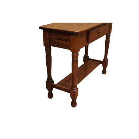36 Sofa Table by 36 Quot Amish Traditional Sofa Table Lfaw02130cs0