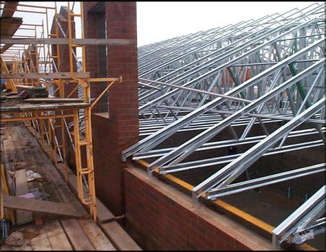 metal roof frame building purlin spacing image roof