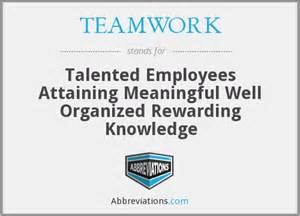 Teamwork talented employees attaining meaningful well organized