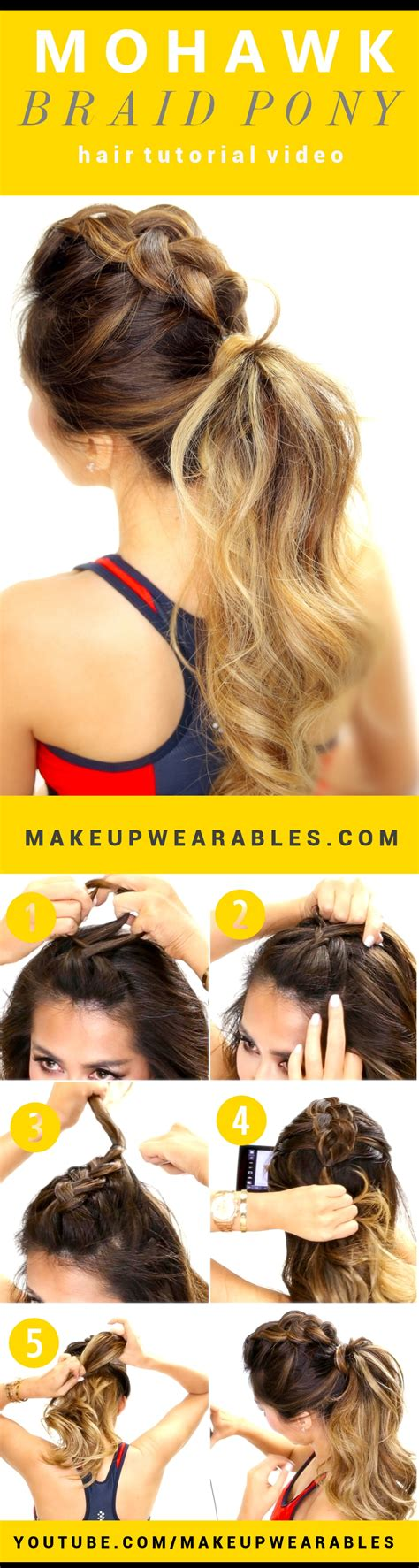 Hairstyle Photos Only Sport by Mohawk Braided Updo Hairstyle 2013