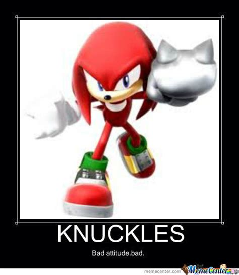 knuckles the echidna by louicheandrea maligmat meme center