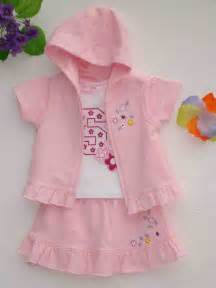 Baby pink and white color baby girl dress 2014 trendy mods com
