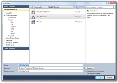 vbnet ribbon designer mfc your mfc c ribbon application with visual studio 2010 pete brown s 10rem net