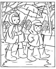 rainy day coloring pages rainy day coloring pages for coloring home