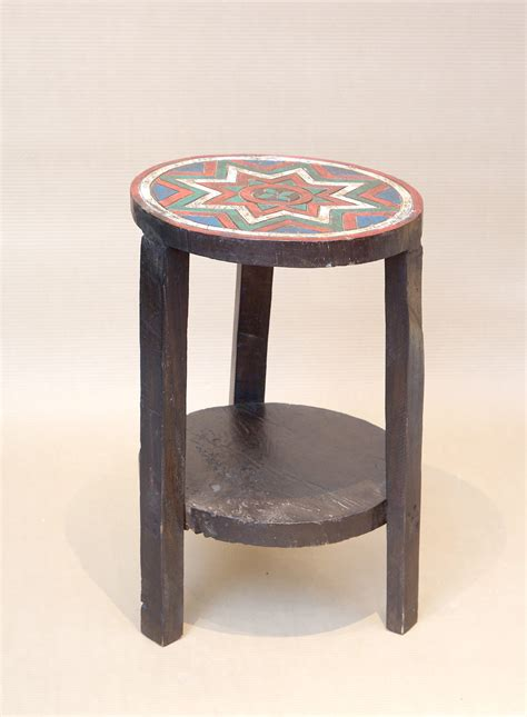 painted stool orient house
