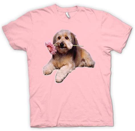 Womens T shirt niedlichen Welpen Hund Portrait   Fruugo