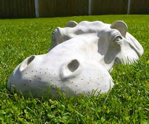 hippopotamus lawn ornaments dudeiwantthat com