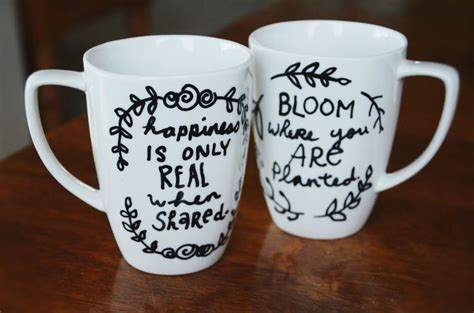 mug design quotes diy quote mug crafts to try pinterest cute designs