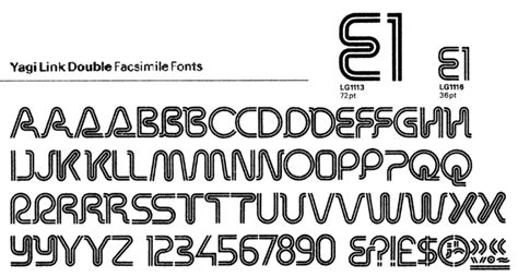 print lined font bowfin printworks font identification type sles