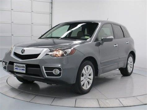 purchase used 2010 acura rdx leather heated seats memory