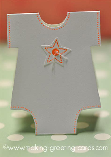 card onesie with a vest card template onesie baby cards tutorial pattern onesie template