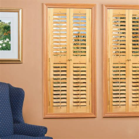 Interior Shutters Cheap by Homebasics Plantation Faux Wood White Interior Shutter