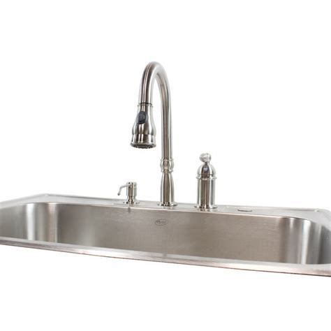 33 inch kitchen sink 33 inch stainless steel top mount drop in single bowl