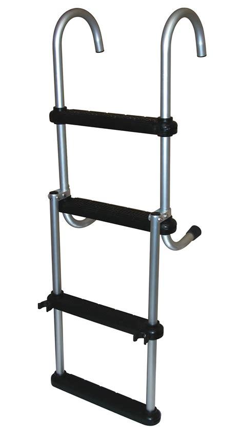 boat ladder removable 4 step removable pontoon ladders dockladdersdepot